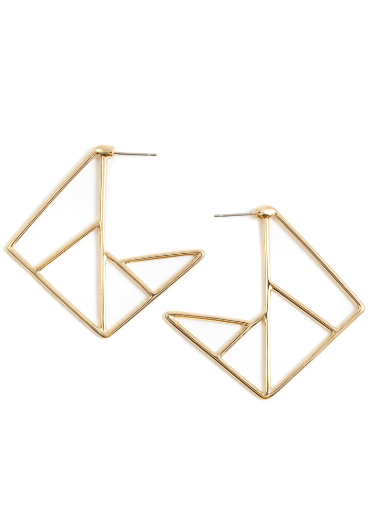 Path Statement Earrings