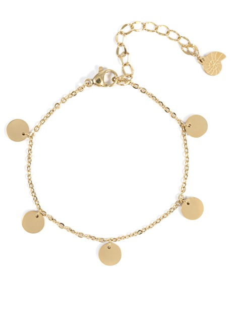 Multi Circles Bracelet Gold