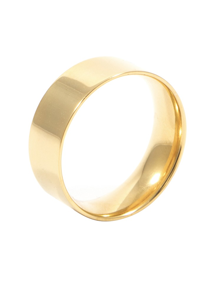 Simple Band Ring Gold