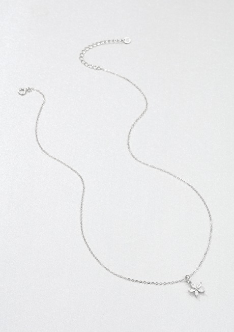 Gemstone Daisy Chain Necklace Sterling Silver 2